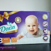 Подгузники памперсы дада премиум Dada Premium Mega Box 3-120,4-100,5-84.