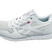 Мужские кроссовки Reebok сlassic 525 белые