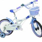 """Детский двухколесный велосипед 16"""" (16-TZ-004 голубой)"""