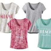 Женские футболки отменного качества Германия ТМ Esmara