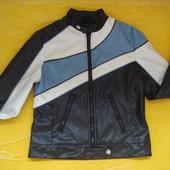 Фирменная кожаная курточка Pilot, на подростка.