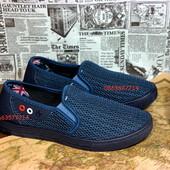 Ультракомфортные Мужские туфли-сетка, Легкие , удобные, ноские и без запахов!