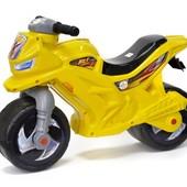 Мотоцикл 2-х колесный лимонный (О)
