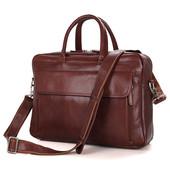 Сумка для ноутбука натуральная кожа Бесплатная достака портфель мужской
