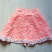 Яркая юбка для девочки. Y.D. Размер 6-7 лет