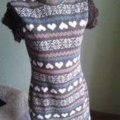 Платье с коротким рукавом фирмы Oodji