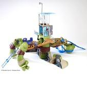 Супер-Набор серии Черепашки-Ниндзя мутации - Леонардо трансформер 60 см, 30 функций в нетоварной уп
