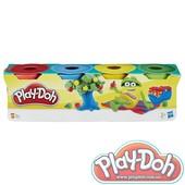 Плей-Дох міні-баночки 4шт по 56гр., Play-Doh (23241)