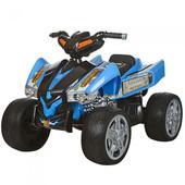Детский квадроцикл с 2 моторами, колеса eva M 2394E-4