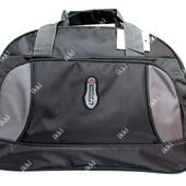 Дорожная сумка спортивного типа черного цвета (10-3 Ч)