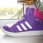 Кожаные кроссовки Adidas 37 р