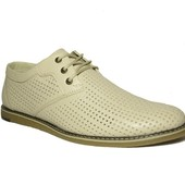 Классические туфли, натуральная кожа, Карат -234 бел