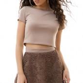 Молодежный летний женский костюм юбка с топом