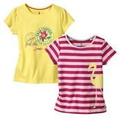 Набір футболок німецького виробника Lupilu ))) 2 штуки !!!