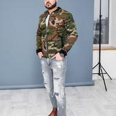 Мужская куртка плотный котон на подкладе 46,48,50,52 (3