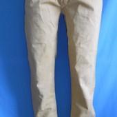 Мужские джинсы на худенького,классные качественные,цвет светло-горчичный,размер прибл.46-48