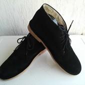 Кожаные туфли 41р. Испания