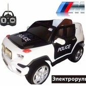 Электромобиль Jeep policia
