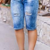 Размеры 46-58 Женские джинсовый шорты