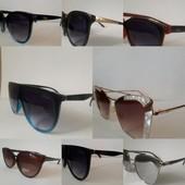 Солнцезащитные очки известных брендов
