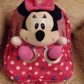 Милый детский рюкзак «Minni Mouse», новый