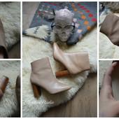 Нежные молочные ботинки Zara Trafaluc,р-р 36