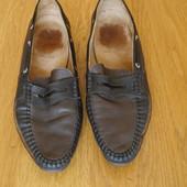 Туфлі шкіряні розмір 8 на 42 стелька 28,3 см Ara