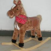 Качалка лошадь BT 001 B музыкальная