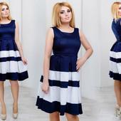 Платье в расцветках 48,50,52,54 (1б