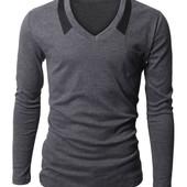Пуловер серого цвета С,М,Л (2з