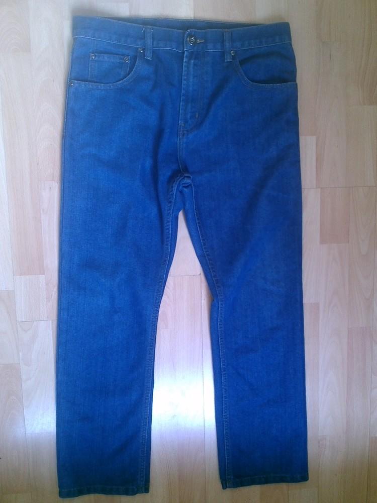 Фирменные джинсы L фото №1