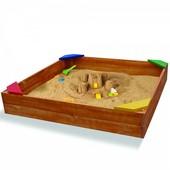 Деревянная песочница - 9