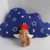 Декоративная подушка облако