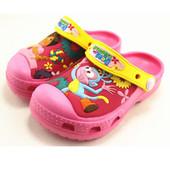 Аналог идентичный оригиналу!! Кроксы (crocs) Dora the explorer J3