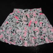 классная юбка George 6-7 лет ( можно дольше до 8) 100% коттон отл.состояние