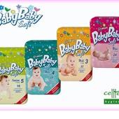 Детские подгузники Baby Baby Soft Словакия.