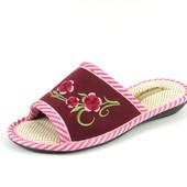 100-KS-016  Женские домашние уютные тапочки, ТМ Sanipur,  розовый, р-ры 36-41