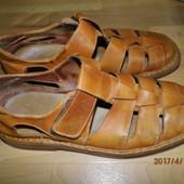 (i0018)кожаные мужские сандалии 45 р 29 стелька