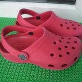 кроксы сабо crocs 10-11 ,17 см  сост.хорошее