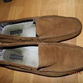 i0039)фирменные кожаные мокасины 44 р Gortz Shoes