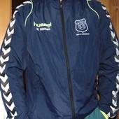 Спортивная  фирменная оригинал курточка мастерка  Hummel (Хаммель) хл -л .