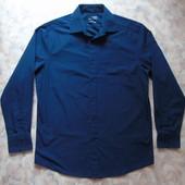 Рубашка синяя 46-48