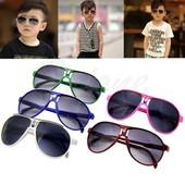 В наличии!!! Детские солнцезащитные очки 4 цвета