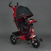 Детский трёхколёсный велосипед 6588В Красный