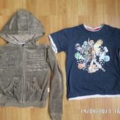 Disney спортивна кофта + футболка 122-128
