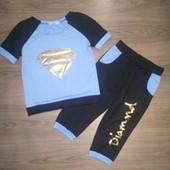 Спортивный костюмчик для девочки 116-140