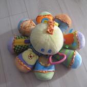 Развивающая игрушка погремушка Bяuin осьминог