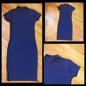 Фирменное платье миди Boohoo, размер М