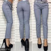 Размеры 42-48 Стильные женские брюки на лето