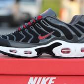 Кроссовки  Nike 95 TN чорно червоні